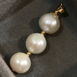 Genuine South Sea Pearl Pendant set in 14k
